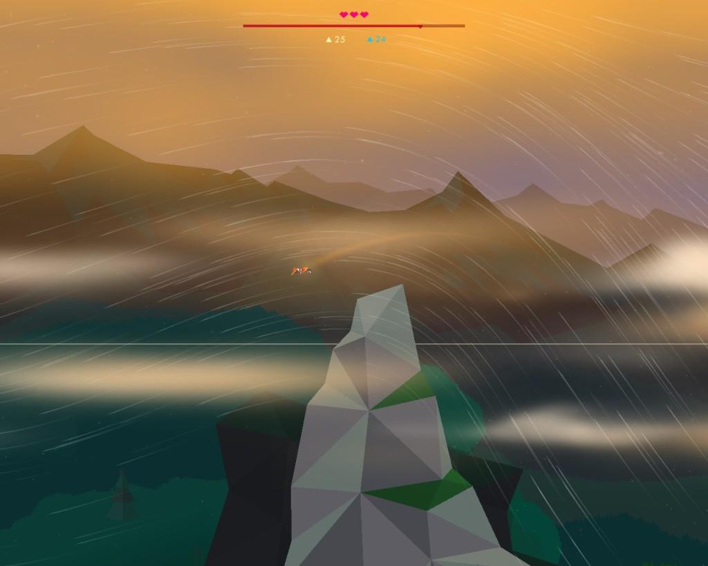 Secrets of Raetikon crest mountain