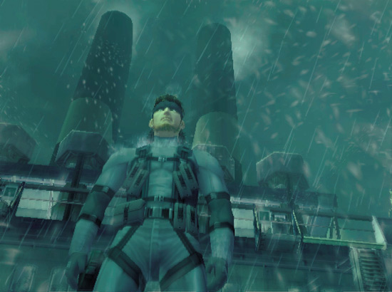 Metal Gear Solid Snake emerges