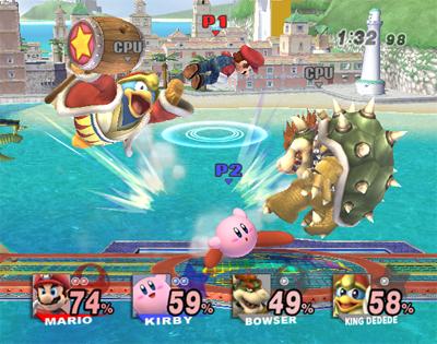 Super Smash Bros Brawl match
