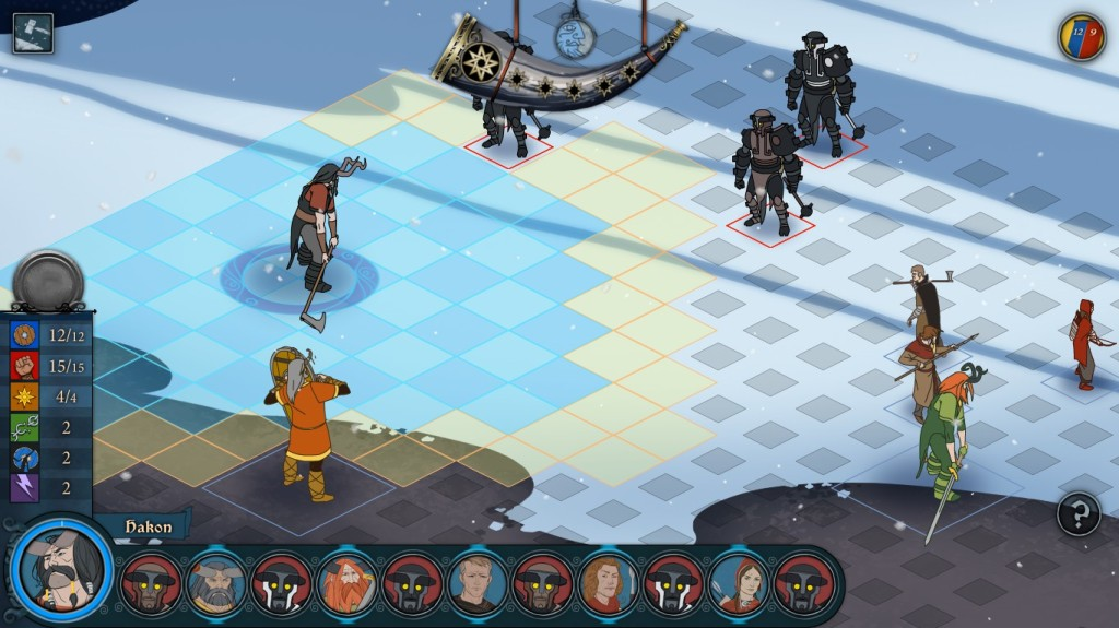 The Banner Saga winter battle