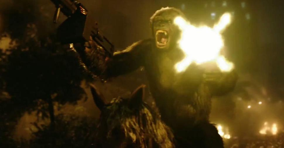 Dawn of the Planet of the Apes gunfire