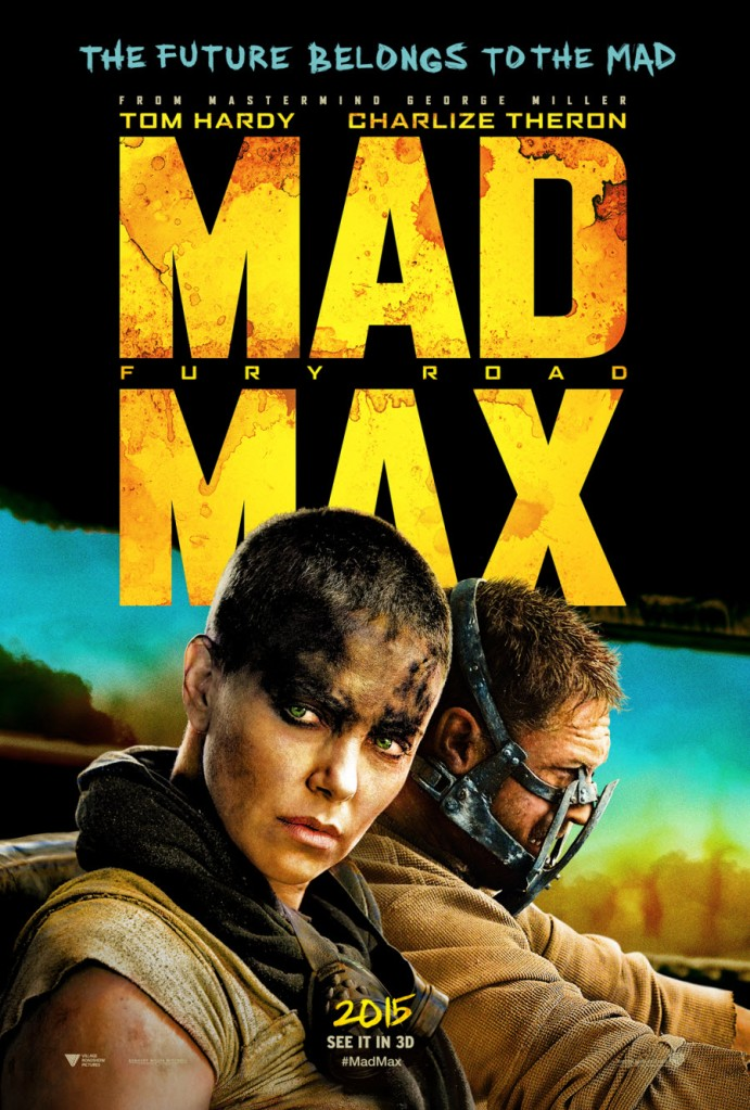 Mad Max Fury Road poster art