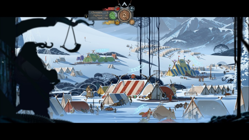 The Banner Saga first camp