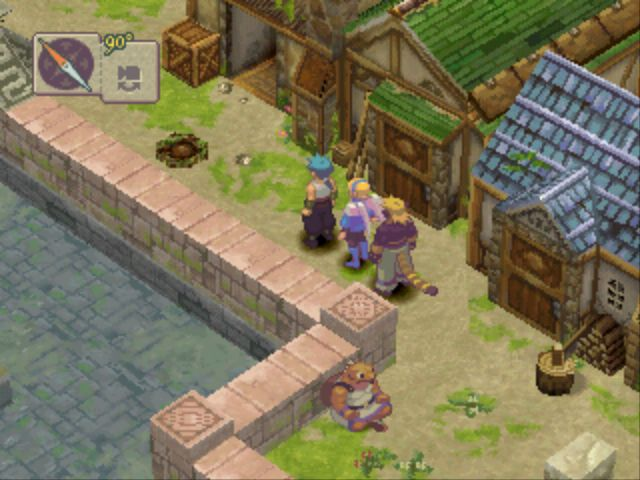 Breath of Fire IV village