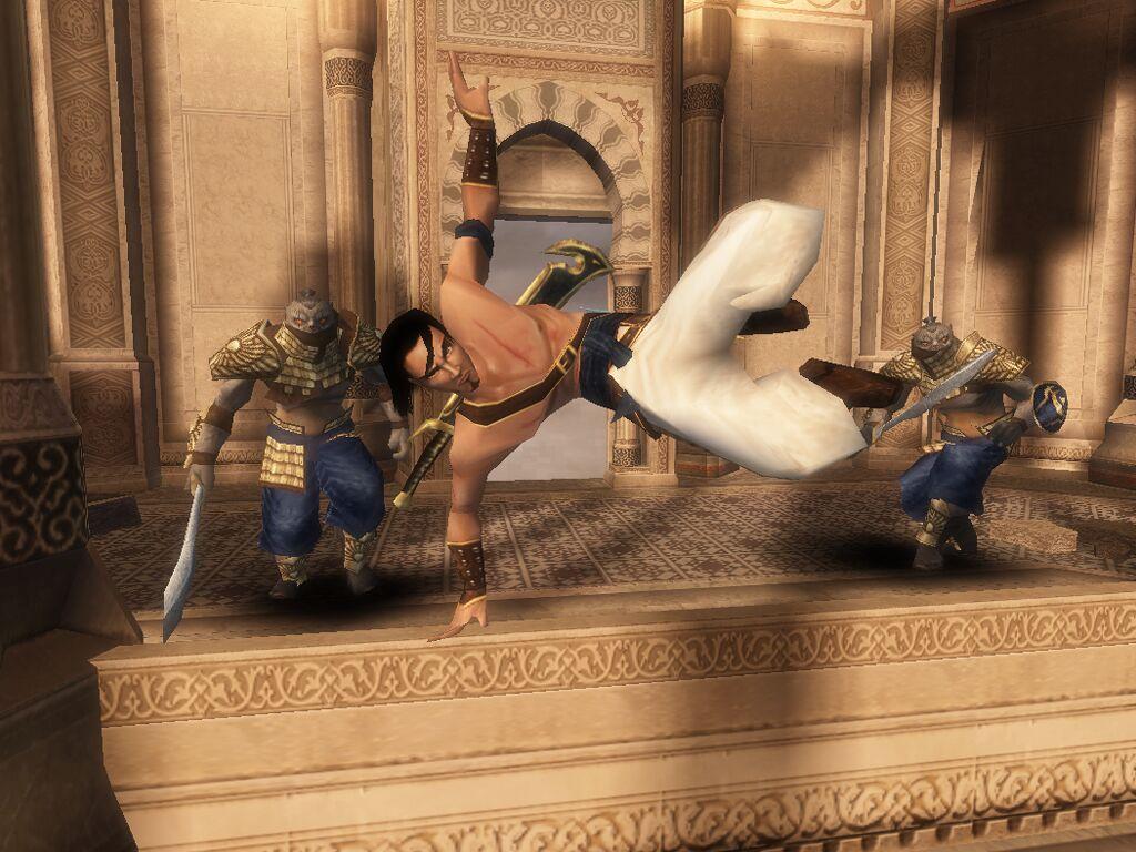 Prince of Persia balcony hop