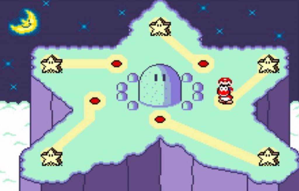 Super Mario World star road