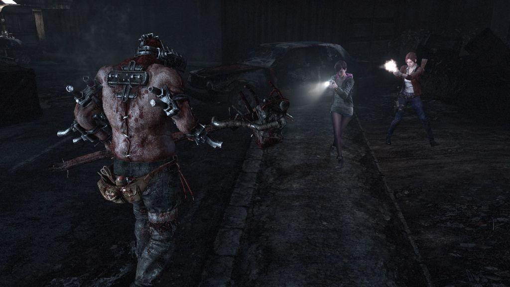 Resident Evil Revelations 2 standoff
