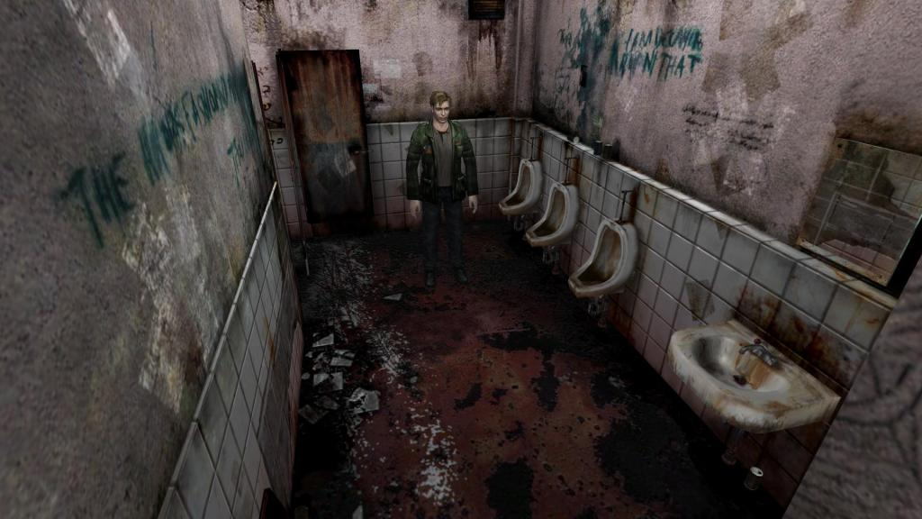 Silent Hill 2 bathroom