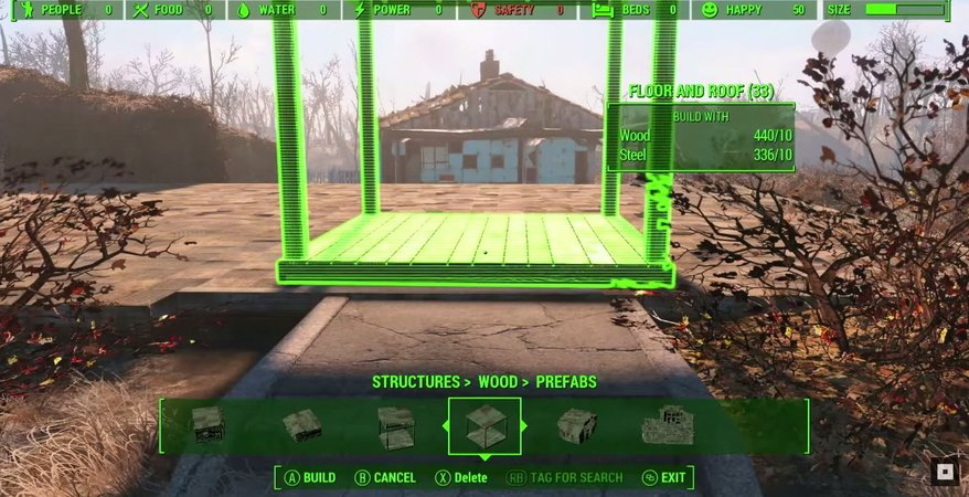 Fallout 4 building mechanic