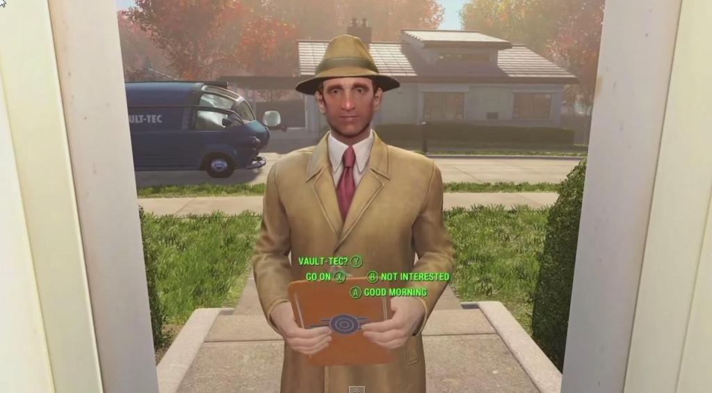 Fallout 4 salesman