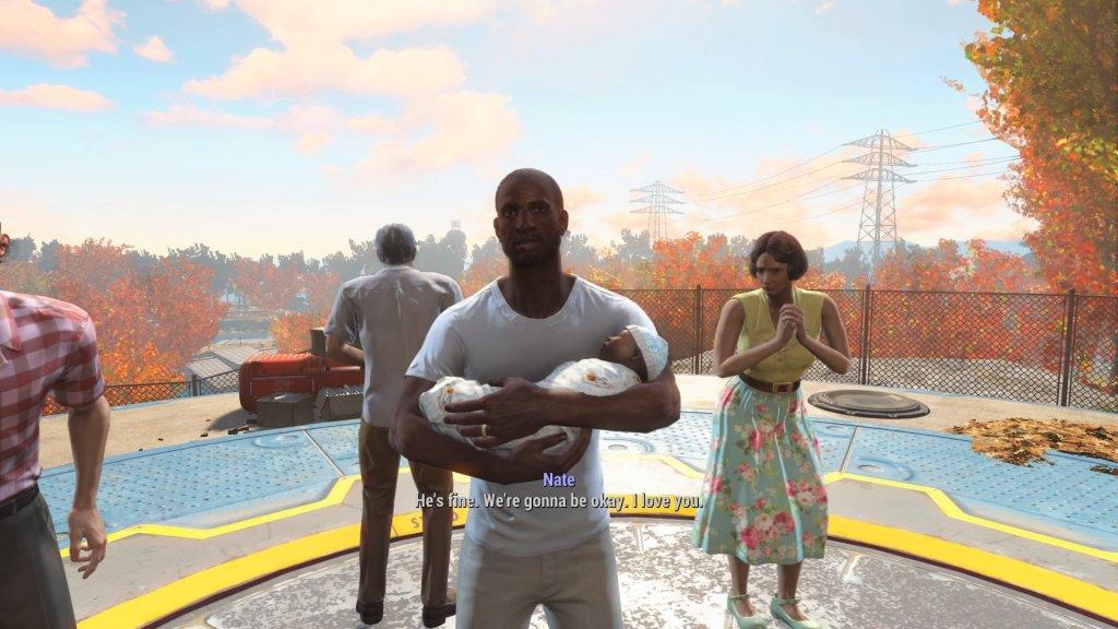 Fallout 4 suburb