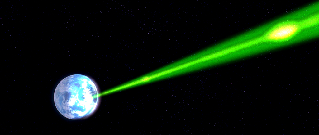 Star Wars death star beam