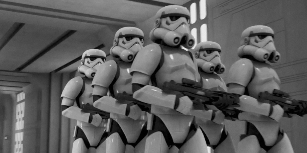 Star Wars stormtrooper march