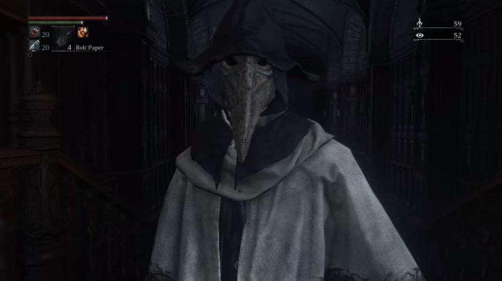 Bloodborne plaguemask