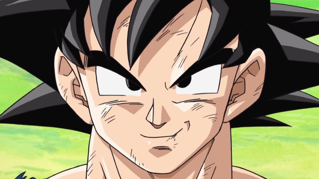 Dragonball Xenoverse Goku face