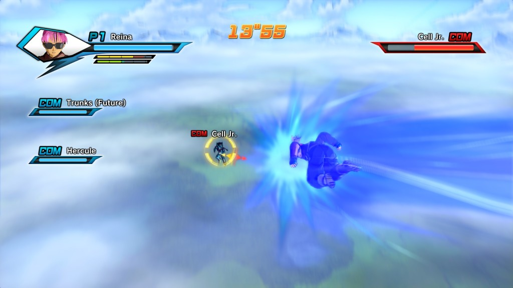 Dragonball Xenoverse charge