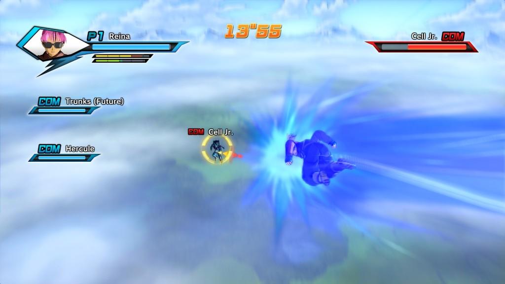 Dragonball Xenoverse charge