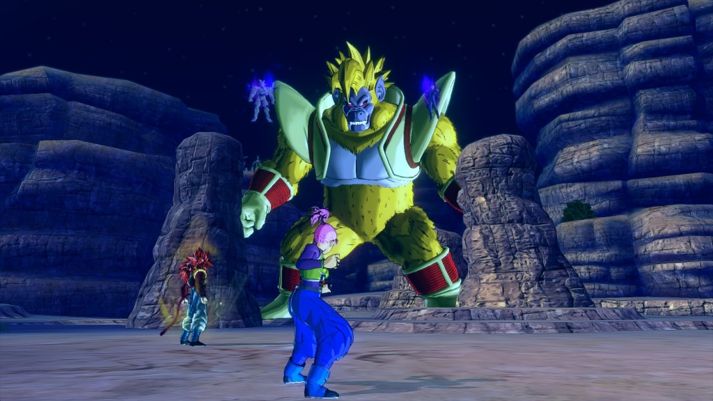 Dragonball Xenoverse ape battle