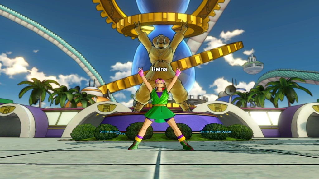 Dragonball Xenoverse Hercule imitation